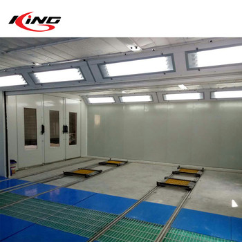 KX-SP3200D 7000*4000*3300mm Outer Size Car Baking Spraying Oven Booth