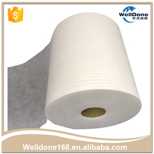 Eco-friendly white color custom non-woven fabric with CE