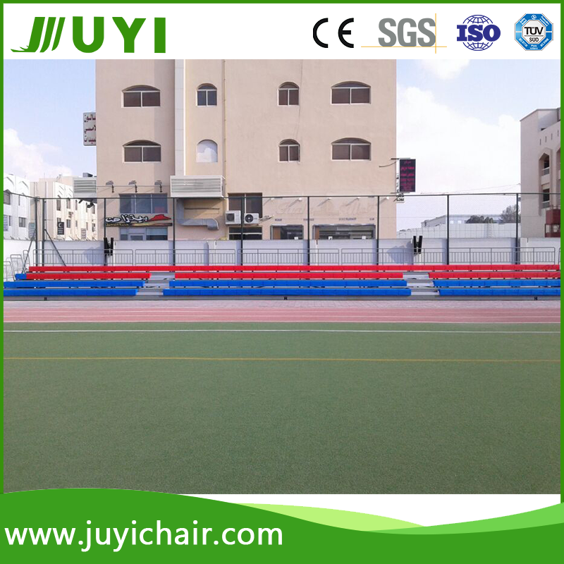 JY-750 Hot selling Fabric Portable Gym Telescopic Portable Bleachers for Sale Seating