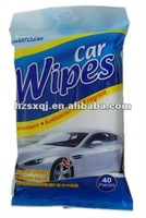 40pcs car cleaning wet wipes scented or unscented OEM welcomed