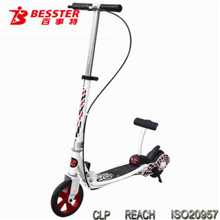 BEST JS-008H DUAL -PEDAL SCOOTER Stainless Stee sport bicycle scooter with sidecar