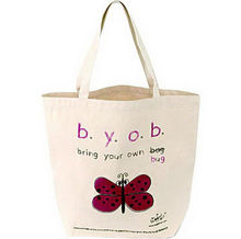 Heavy Duty Cotton Canvas Tote Shopping Bag