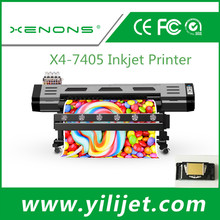 1.88M Eco-solvent Roll to Roll Inkjet Vinyl Wrap Printer