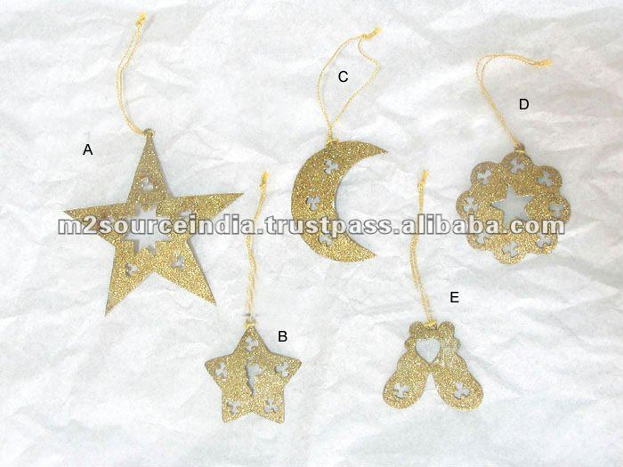 Christmas Hanging, christmas moon, christmas hanging star