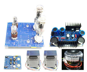 2A3 SE Single-end Tube Amplifier 5W+5W Kit (Stereo)