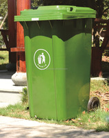 hospital medial recycle street uptown garbage plastic waste bin plastic container