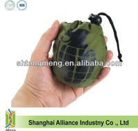 Nylon Foldable Recycle Bag With Grenade Printing (CF-0121A)
