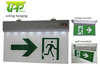 Hanging Rechargeable 5W fire led emergency Exit Sign 3 hours