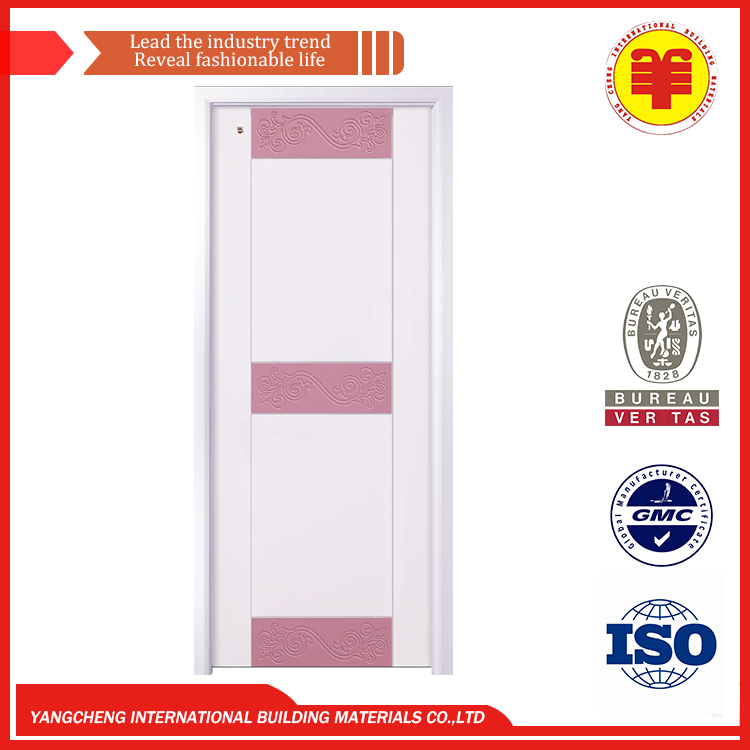 Moisture proof Strong carton Lock handle single leaf swing interior or exterior doors with Indoor Wide options for business fam