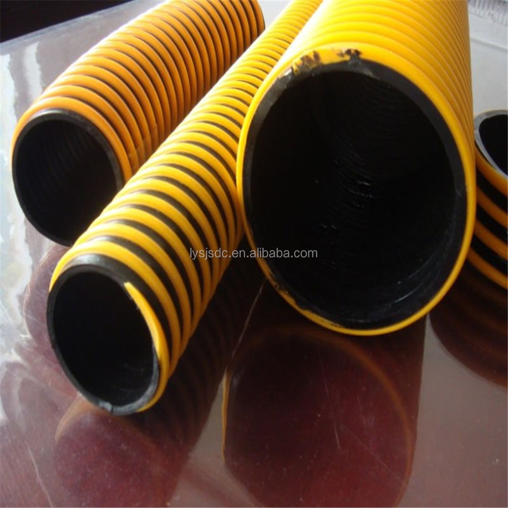 Pvc pump suction hose non smell no toxic water pipe spiral