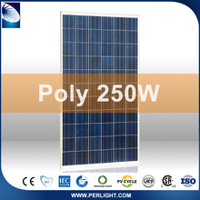 White/black Excellent Material Poly 250 Watt Solar Panels For Home Use