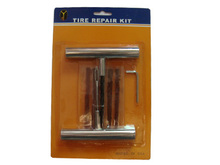 Tire Repair Tool Set(Plug+Insert gun) Kit Car Tyre Repair Tool Kit