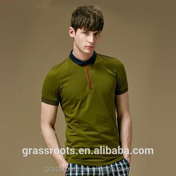 cheap v neck promotional t shirt polo/new design polo t shirt