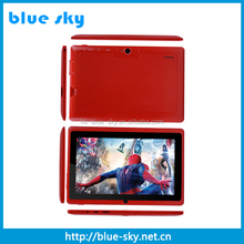 7 inch smart android tablet pc dual cameras dual core with wifi android 4.2 tablet pc
