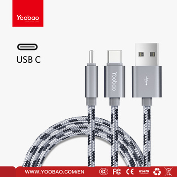 Yoobao Nylon Braided Type-c Cable
