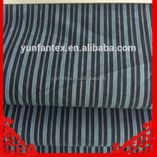 2018 fashion latest Italy design pattern cotton poplin white blue stripe shirt fabric