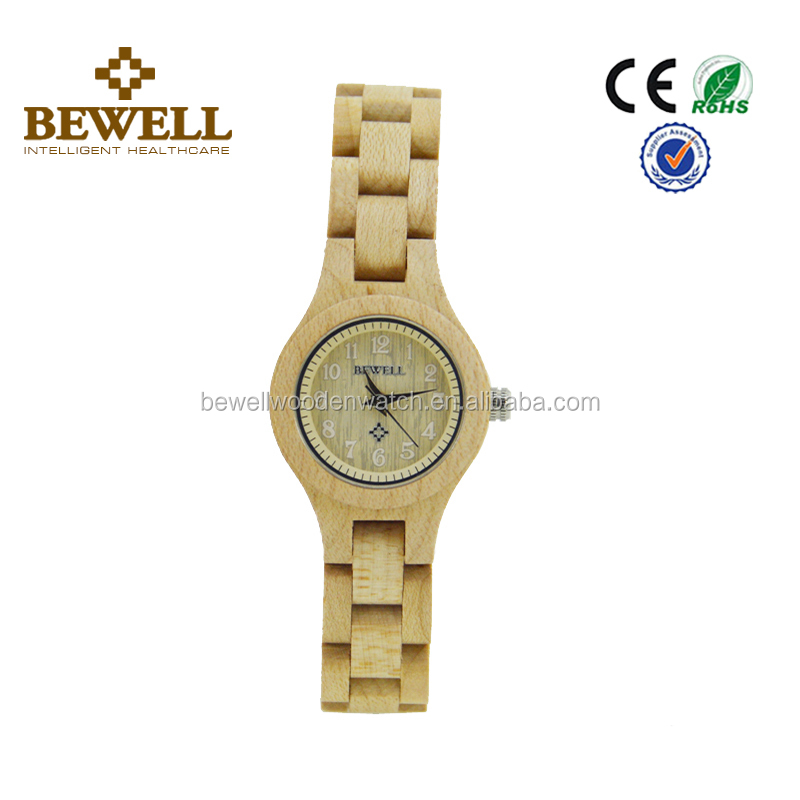 Luxury limited edition ladies watches,beautiful dial watch,sexy women wrist maple wood we wood watch