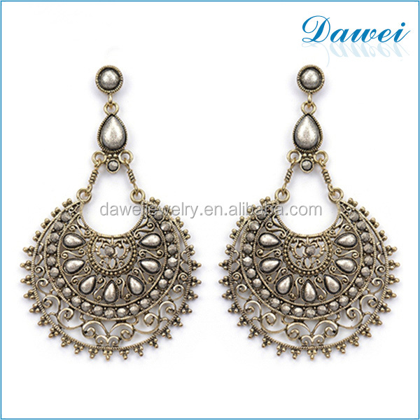 european retail store hot sell old model earring in alibaba website
