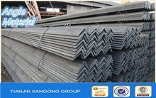stainless black angle steel bar/perforated steel angle bar/mild steel angle bar