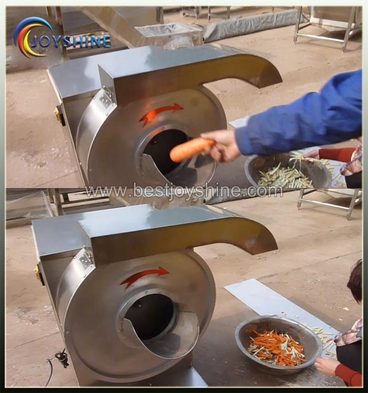 High Efficiency commercial use french fries forming machine