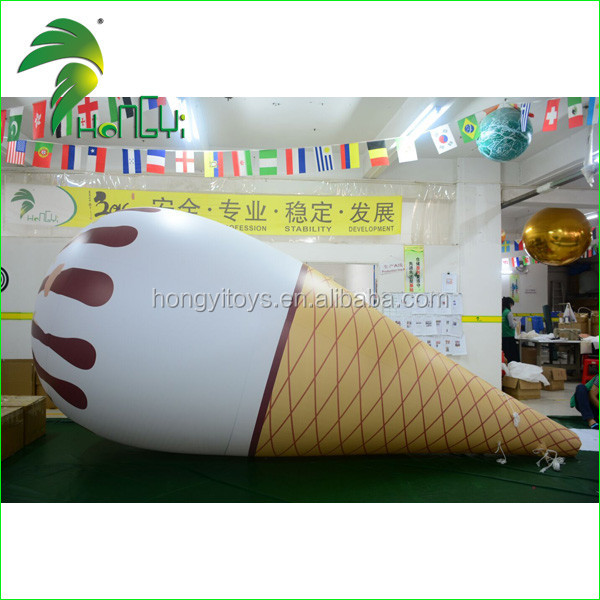Giant Inflatable Ice Cream Cone Shape for Advertising