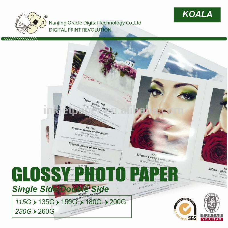 premium cast coated a4 glossy photo paper