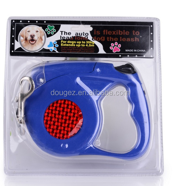 2020 Made in China Low-cost Wholesale Automatic Dog Leash with Light