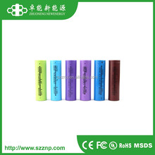 Hot selling battery !!! Rechargeable 18650 li-ion cell 3.7V 2.5ah 2500mah