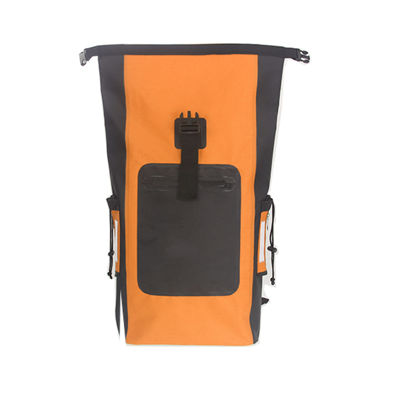 Waterproof Outdoor Bag with 2 Pockets, Padded Straps with 2 Mesh Pocket and Frong Zip Pocket