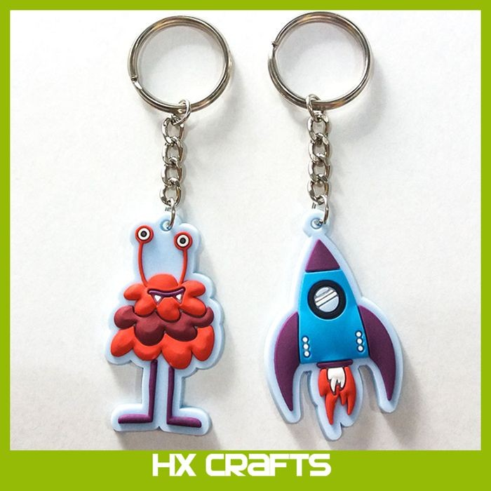 Promotional cheap custom 3d soft pvc keychain,2d 3d rubber soft pvc keychain wholesale