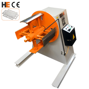 Motorized Unwind Shaft Sheet Metal Coil Steel Strip Mandrel Uncoiler Manual Decoiler For Press Machine For Stamping Feeding
