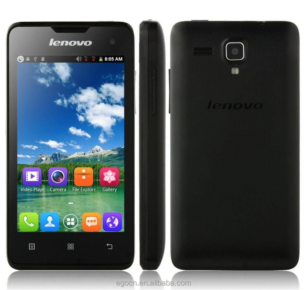 Original Lenovo A396 SC7730 Quad Core 1.2GHz Android 2.3 Smartphone 4.0 Inch IPS Screen WCDMA Dual Sim WiFi Unlock A3 Cell Phone