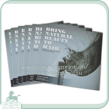 High quality custom full color hair products catalog printing