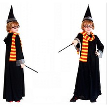 Deluxe Robe Adult Costume Magician Design Halloween Carnival Costumes for Men Wizard