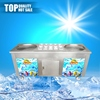 High end sale stainless steel top fry ice cream machine