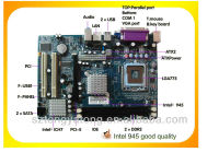 Hot selling intel 945 socket 478 motherboard
