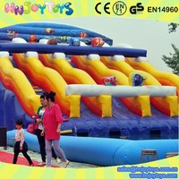 inflatable water slide big w