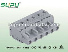 2-24 Female Connectors With Spring-Clamp