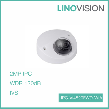 2MP Full HD WDR Network Vandal-proof IR Wedge Dome Wireless IP Camera