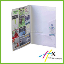 Wholesale high quality custom company folders