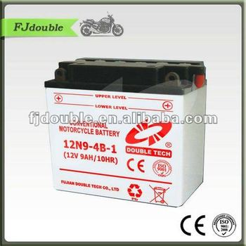 STANDARD MOTORCYCLE BATTERY 12N9-4B-1(12V 9AH)