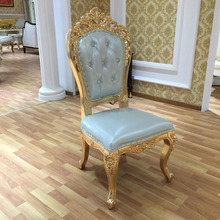 LC105A high end quality antique wood chair