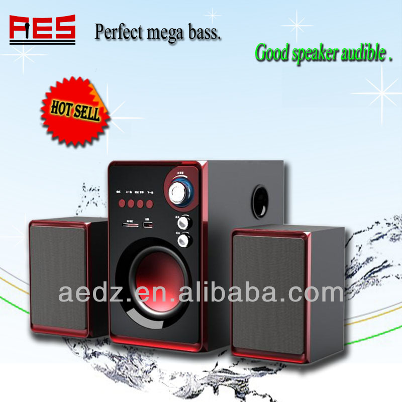 2.1 audio mini speaker hifi hme speaker TV usb subwoofer made in china