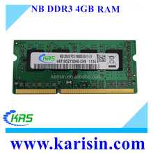 Bulk computer parts laptop 4gb 8gb ddr3 ram memory for notebook