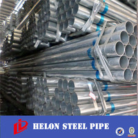 steel tube! !hot dip galvanized steel tube pipe for water transportation china manufacturer