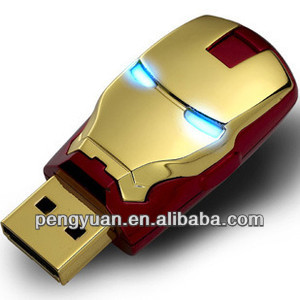 hot sale promotional gift ironman 3 avengers usb flash disk/drive