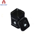 Rectangular High Quality Black Cosmetic Container Tin Packaging