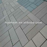 fire-resistant& water proof DIY wpc decking floor/ DIY outdoor tiles