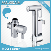 Fashion Designed Brass Bathroom Bidet Attachment Bidet Faucet Set with 7/8 T-adapter