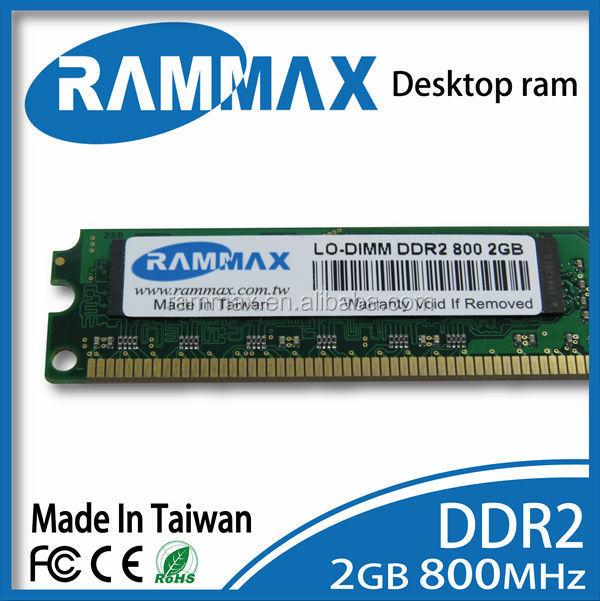 Cheap computer parts 2GB DDR2 800MHZ lodimm ram memory